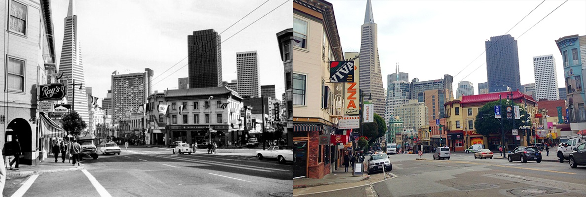 New Sf Re Creating Old Photos Of North Beach